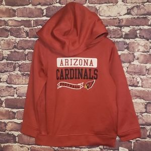 New NFL Cardinals football hoodie pullover 4T